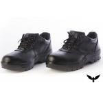 Zapatos de Seguridad Halcon Cuero Box Suela de Goma Febo Puntera de Acero
